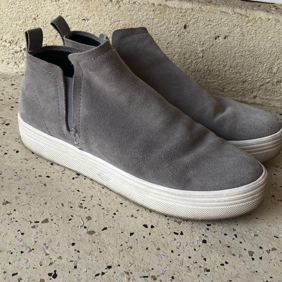 Dolce Vita Tate High Top Sneakers Grey